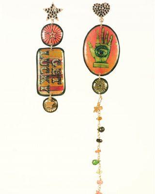 •La fortuna, che ci guardi• Collezione Circus shoppingonline alloveyou.it La collezione CIRCUS a breve non sarà più online🎪 #alloveyou #circuscollection #earrings #madeinitaly #circus #artisanal #silverjewelry #shoppingonline #beunique #trattareconcuraportarecongioia #alloveyoujewels @alloveyoujewels