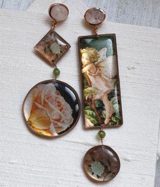 •Lo sguardo poetico sulle cose. Questo amiamo• #alloveyou #earrings #poetry #trattareconcuraportarecongioia #gioielliemozionali #jewels #madeinitaly #artisanal #soul #alloveyoujewels @alloveyoujewels