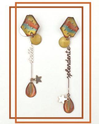 •Siamo stelle splendenti• Collezione Bisbigli Disponibile online-alloveyou.it #alloveyou #earrings #stars #trattareconcuraportarecongioia #silverjewels #madeinitaly #artisanal #alloveyoujewels @alloveyoujewels
