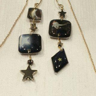 •Che sia una notte piena di stelle• Collezione Onyric #alloveyou #earrings #silverjewelry #madeinitaly #artisanal #beunique #romanticjewelry #goodnight #stars #gioielliemozionali #trattareconcuraportarecongioia #alloveyoujewels @alloveyoujewels